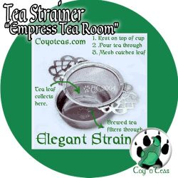 Tea Strainer from Coyoteas