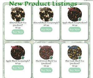 New Product Listings